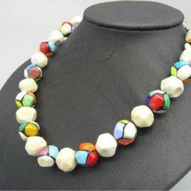 Collar VILMA , Perlas de Vidrio de Murano